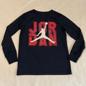 Nike Air Jordan Dri-Fit Boys Shirt Medium 10/12